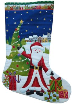 How to Make a Makower Christmas Stocking There's nothing as special as a handmade Christmas stocking, but if you're still...