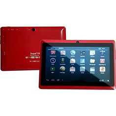 Worryfree Gadgets WFG7DRK002RED 7IN RK 3026 15GHZ ANDROID 42 *** Click on the image for additional details.