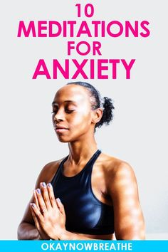 10 Totally Free Guided Meditations for Anxiety There are countless benefits of meditating. These 10 free guided meditations for anxiety help relieve panic, overthinking, and anxiety. Perfect for beginners! Meditation Mantra, Guided Meditation For Anxiety, Meditation Benefits, Meditation For Beginners, Chakra Meditation, Meditation Practices, Meditation Music, Mindfulness Meditation, Meditation Scripts
