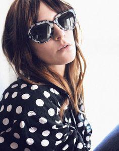 Chemise à pois - lunettes imprimées -Les Brèves - Tendances de Mode