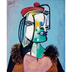 A Cubism moment by Picasso