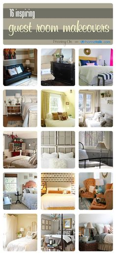16 Inspiring Guest Room Makeovers!