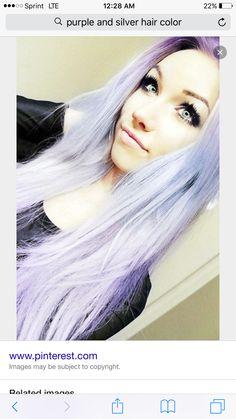 Purple to gray