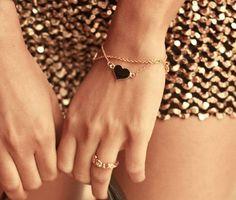 Deck Heart Bracelet