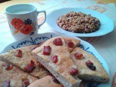 Babičkina fazuľová kaša s cesnakovým posúchom - Báječné recepty Mashed Potatoes, Oatmeal, Tacos, Breakfast, Ethnic Recipes, Food, Red Peppers, Whipped Potatoes, The Oatmeal