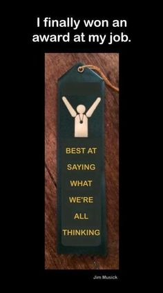 I totally deserve this award!