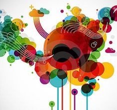 Illustration about Creative graphic design in funky modern style. Illustration of creativity, magazine, layout - 15339636 Free T Shirt Design, Free Design, Graphic Design Templates, Freelance Graphic Design, Wings Icon, Panda Images, Black And White Logos, Web Design Company, Art Clipart