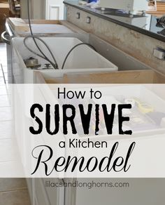 Find out How to Survive a Kitchen Remodel with these 10 tips