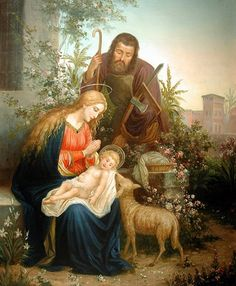 Joseph picture image Blessed Mother and Child Nativity scene Holy Mary painting Catholic posters prints Christmas gifts Catholic Art, Religious Art, Roman Catholic, Religious Pictures, Blessed Mother Mary, Mary And Jesus, Holy Mary, Oil Painting Reproductions, Christmas Nativity