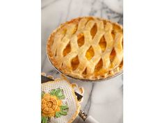 Nita's Secret Peach Pie