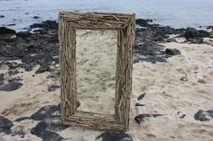 22 Applegate Lane: How To Make a Driftwood Mirror