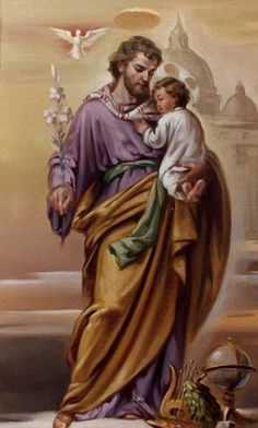 St Joseph, pray for us St Joseph Catholic, Catholic Art, Catholic Saints, Catholic Theology, Religious Images, Religious Icons, Religious Art, Catholic Pictures, Pictures Of Jesus Christ