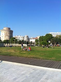 """See 3879 photos from 38765 visitors about beautiful city, sunsets, and Greek food. """"This is a very lively city. It has beautiful. Thessaloniki, Four Square, Greece, Sunset, City, Heart, Beautiful, Greece Country, Cities"""