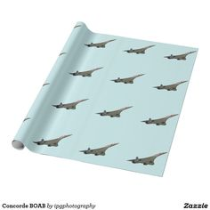 Concorde BOAB Wrapping Paper Background color changeable when ordering #aircraft #avgeek #aviation