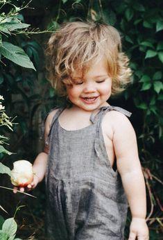 Lovely Handmade Linen Baby Toddler Romper   Etsy