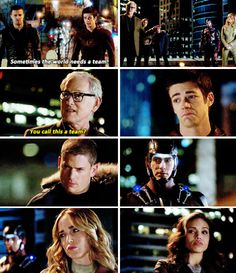 Legends of Tomorrow (2016) I literally can't. Oliver's going to come back as the (black?) Arrow!!!!
