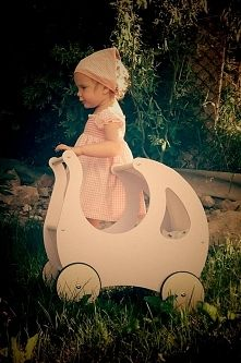Wooden prams, pushers and pull along toys from OLOKAGRUPPE