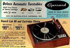 Garrard turntables