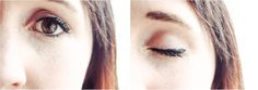 Get the look: Easy Basic Cateye Make-up
