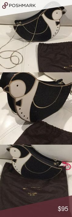 Kate spade penguin crossbody purse Brand new without the tags. Come with dust bag. Perfect condition. PRICE Is FIRM kate spade Bags Crossbody Bags