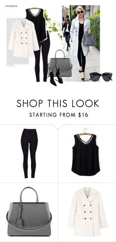 """""""Untitled #47"""" by elvisa-hamzic ❤ liked on Polyvore featuring Fendi, Marni and Le Specs"""