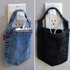 handig, dus je oude jeans kan nog voor wat dienen