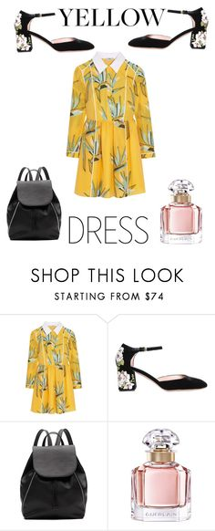 """""""Moonlight"""" by tatianabilly ❤ liked on Polyvore featuring Fendi, Rochas, Witchery and Guerlain"""