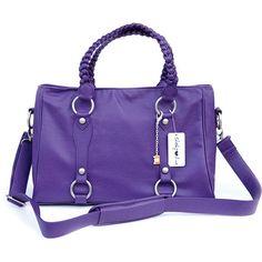Cheeky Lime Livy Shoulder Bag (Purple) CL-LIV-PL B&H Photo Video