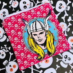 Thor Zipper Pouch - God of Thunder, Superheroes, Comic Books.