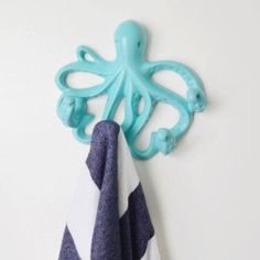 Young House Love 5 in. Octopus Hook - $11.97