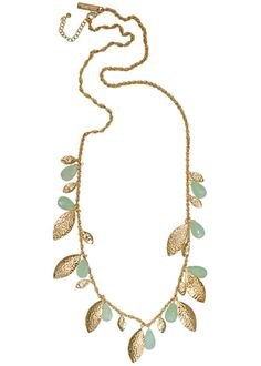 Kendra Scott Curry Necklace in Chalcedony