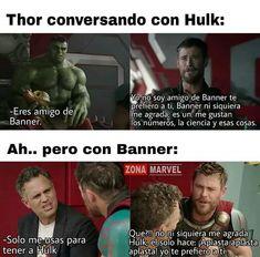 Mundo Marvel, Marvel Dc Comics, Marvel Heroes, Marvel Avengers, Funny Marvel Memes, Avengers Memes, Funny Jokes, Superhero Memes, Marvel Movies