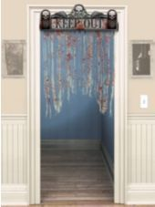 Bloody Doorway Curtain-Party City #partycity #halloween