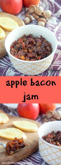 Apple bacon jam is a