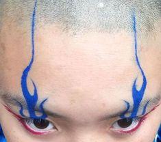 ˗ˏˋ I s a b e l l a ˊˎ˗ blue flame eye makeup look Makeup Inspo, Makeup Art, Makeup Inspiration, Beauty Makeup, Eye Makeup, Hair Makeup, Beauty Dupes, Drugstore Makeup, Makeup Ideas