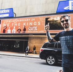 I'll never get over the fact of seeing my face on a billboard in Times Square! ( @frankiemphotos)
