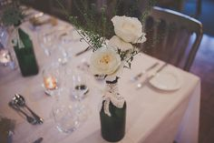Floral Fabric, Fairy Lights, Pretty Pastel Pompoms - A Relaxed, Rustic, Farm Wedding
