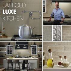 LATTICED LUX KITCHEN | Kohler