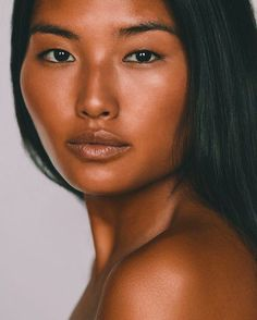 """~Contrary to [popular] opinion, just b/c she has melanin in her skin doesn't make her """"black."""" She's an Asian beauty. Like I said before, having melanin in the skin doesn't make one African. Jeepers, get a clue! ~"""