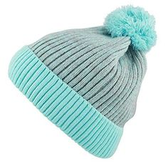 871c4b522f2 THE HAT DEPOT Exclusive Ribbed Knit Beanie Warm Fuzzy Thick (Mint With Pom)   fashion  clothing  shoes  accessories  unisexclothingshoesaccs ...