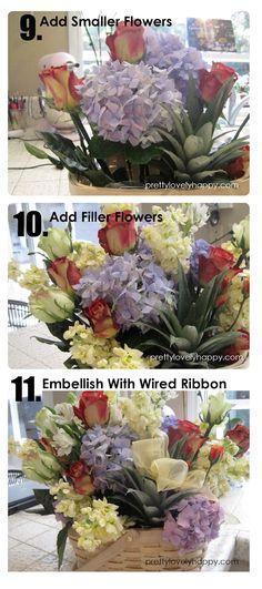 Pretty. Lovely. Happy.: DIY Flower Arrangement