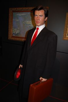 Photography by Marie Winton Famous Celebrities, Celebs, British Royal Family Members, Wax Museum, Pierce Brosnan, Madame Tussauds, Important People, Sports Stars, Baker Street