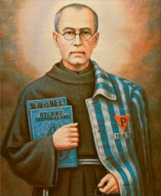 Today is the ‪#‎feastday‬ of St. Maximilian Kolbe, Polish priest, Franciscan…