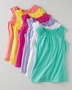 Ruched Knit Tank - Baby Girls & Girls