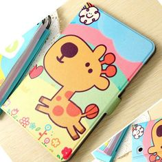 Fashion painted Pu leather stand holder Cover Case For Samsung Galaxy Tab E T560 T561 9.6 inch Tablet + Gift