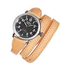 Shinola Runwell Stainless Steel Women's Watch