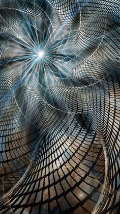 Broken Metronome by JP-Talma on DeviantArt - Hunde Art Fractal, Fractal Design, Fractal Images, Kaleidoscope Art, Psy Art, Fractal Patterns, Autumn Scenery, Illusion Art, Psychedelic Art
