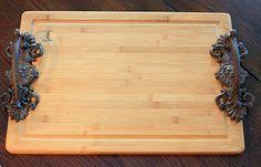 drawer pull cutting board / trays