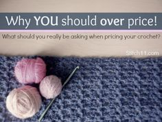 Informative article. It really gets to the point of how crafters of any kind really should look at what they are making and how they should charge. I try to follow the suggestions made here as best as possible but for me it all comes down to the basics; materials, time taken and customization from my customers. I feel that I am fair to both myself for the quality I offer and the budget of my customer :)