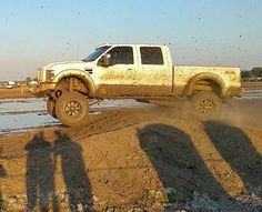 Lifted Ford Truck Mudder